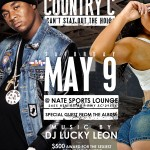 may 9th country c album release flyer